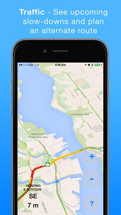 HeadsUp Drive: Traffic App