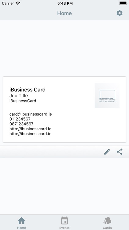 iBusinessCard screenshot-1