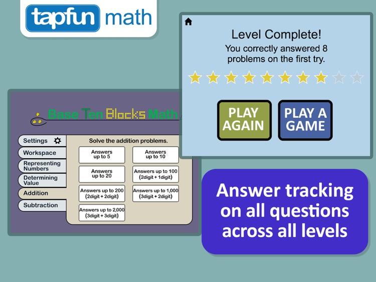 Base Ten Blocks Math Pro screenshot-3