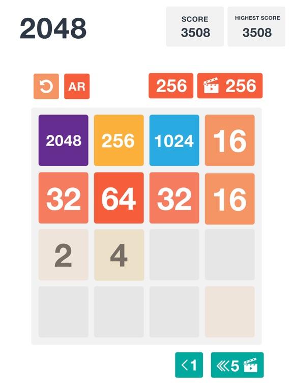 2048: Classic and AR screenshot 8