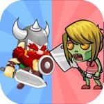 Viking Knight Hunter Vs Zombie