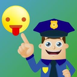 Police Moji-Emoji for Police