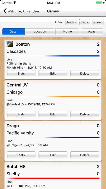 Basketball Stat Tracker Live screenshot-6