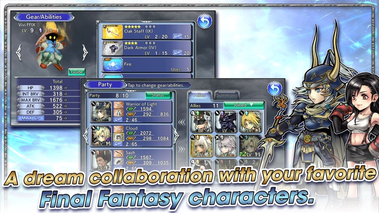 DISSIDIA FINAL FANTASY OO screenshot-1