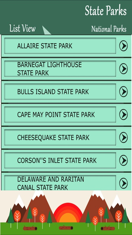 State Parks In New Jersey