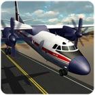 aeroplano pilota volo simulato icon