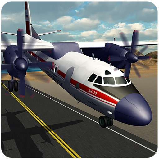Airplane Pilot Flight Sim 2018 iOS App