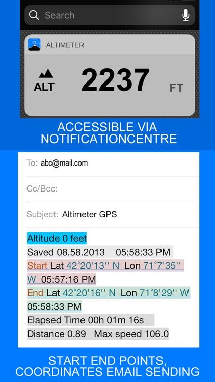 Altimeter GPS+ (Speedometer) screenshot-3