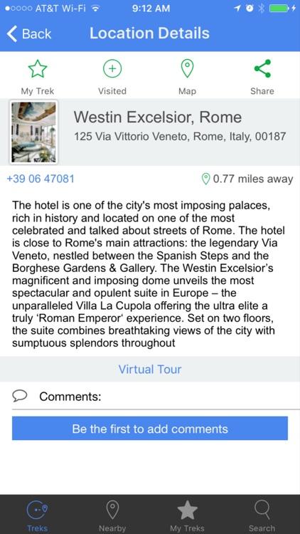 VR TreksInTheCity: Rome screenshot-4