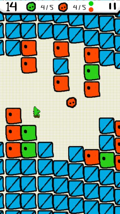 Flappy Chameleon screenshot 2