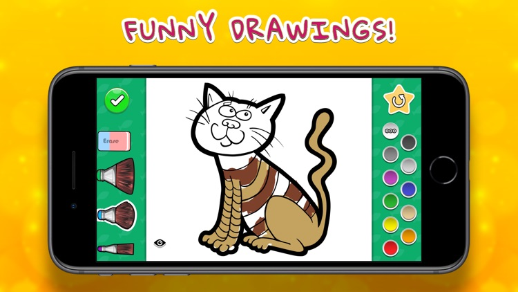 Coloring Your Cats screenshot-0