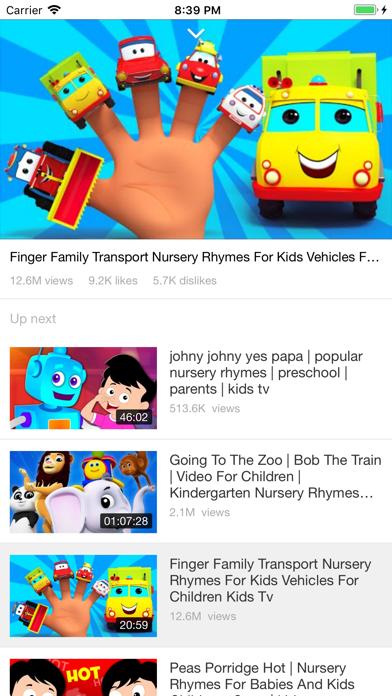 Kids TV World - App - iOS me
