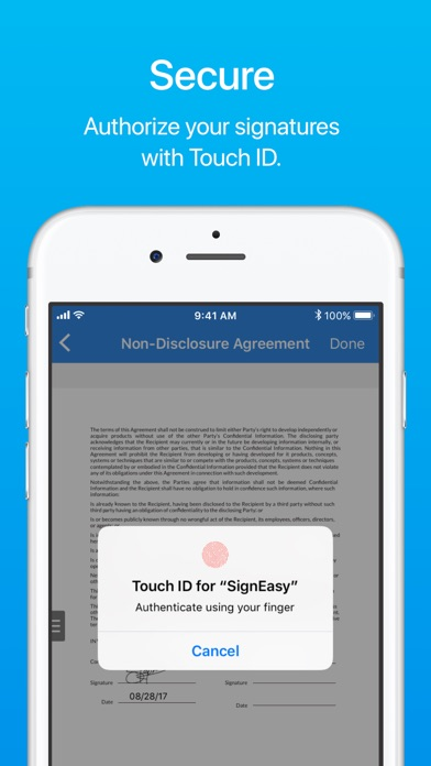 SignEasy - Sign and Fill Docs app image