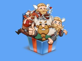 New sticker pack with brave and funny Vikings