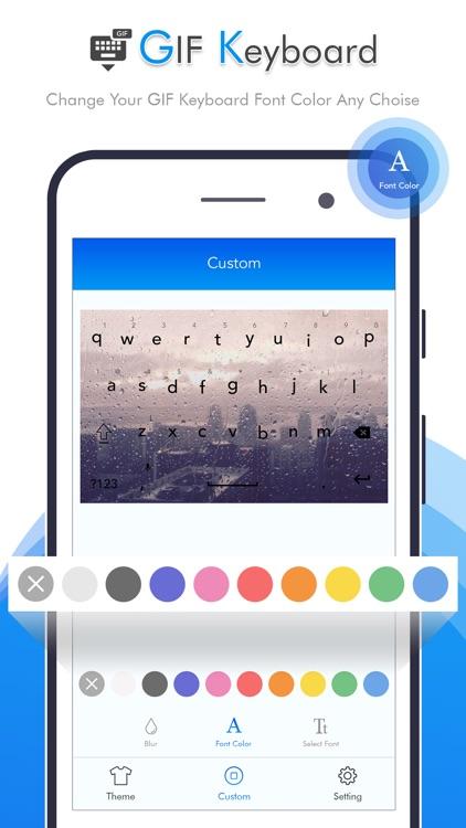 GIF Keyboard - Emojis & Themes