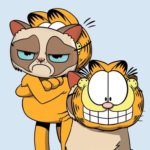 Garfield Grumpy Cat By Bare Tree Media Inc