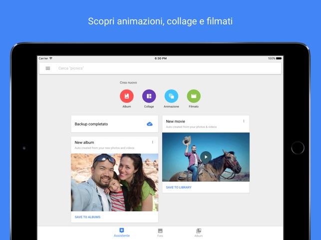 Google Foto Screenshot