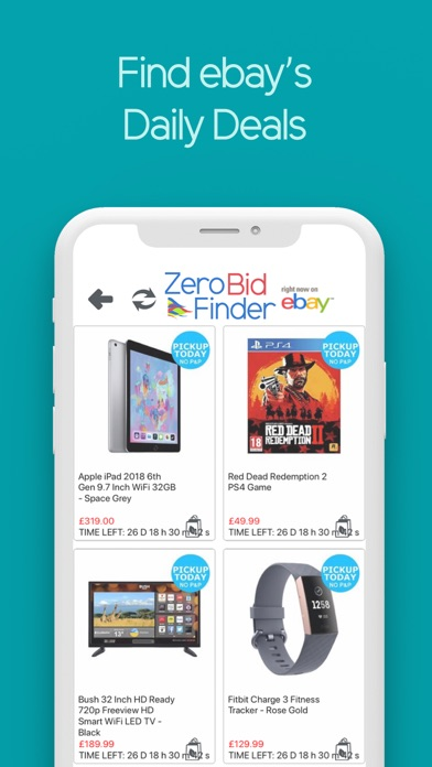 Zero Bid Finder for ebay USA Screenshot