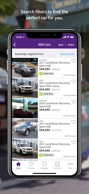 car purchasing apps