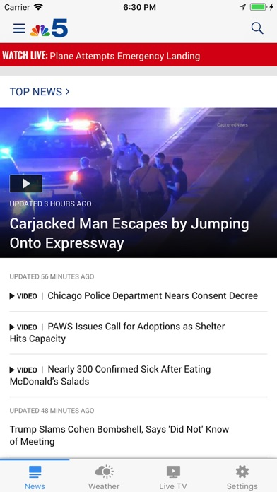 Nbc 5 Chicago review screenshots