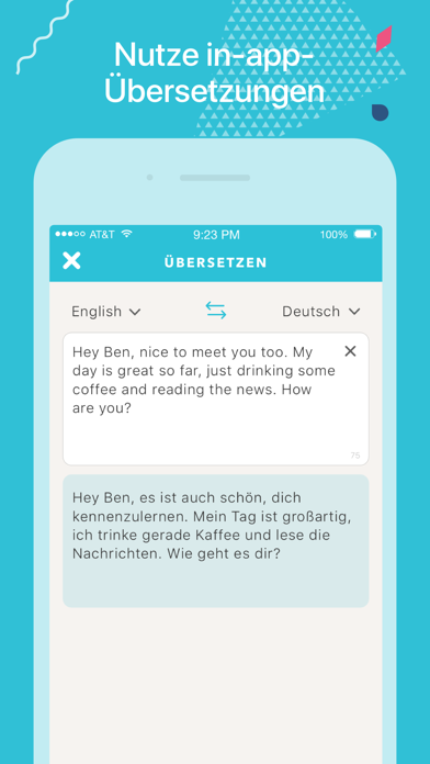 Screenshot for Tandem - Sprachen lernen in Germany App Store