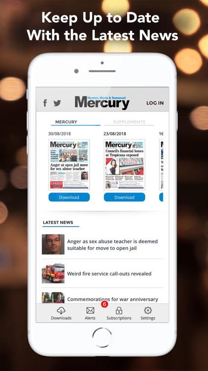 Weston and Somerset Mercury screenshot-3