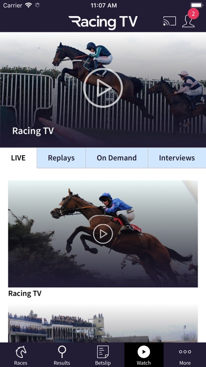 Racing TV – Live horse racing screenshot-3