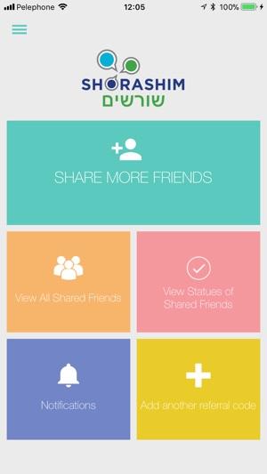 Shorashim Friends on the App Store