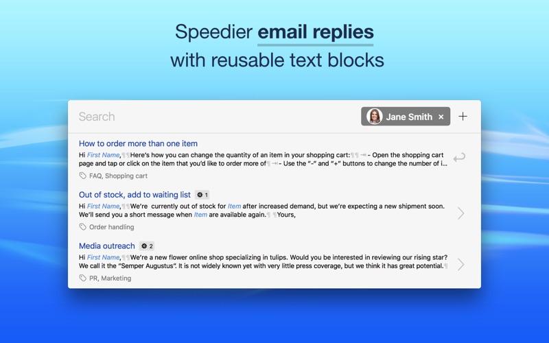 Text Blocks Screenshot