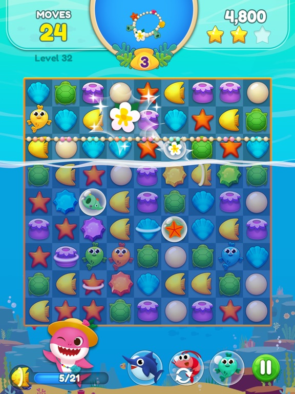 Baby Shark Match: Ocean Jam screenshot 13