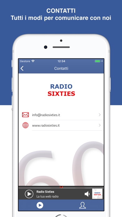 Screenshot for Radio Sixties in United States App Store