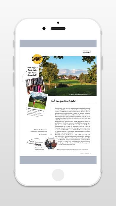 LADY GOLF - ZeitschriftScreenshot von 3