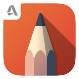 Ícone do app Autodesk SketchBook