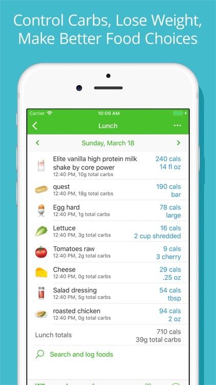 Diabetes Tracker by MyNetDiary screenshot-3