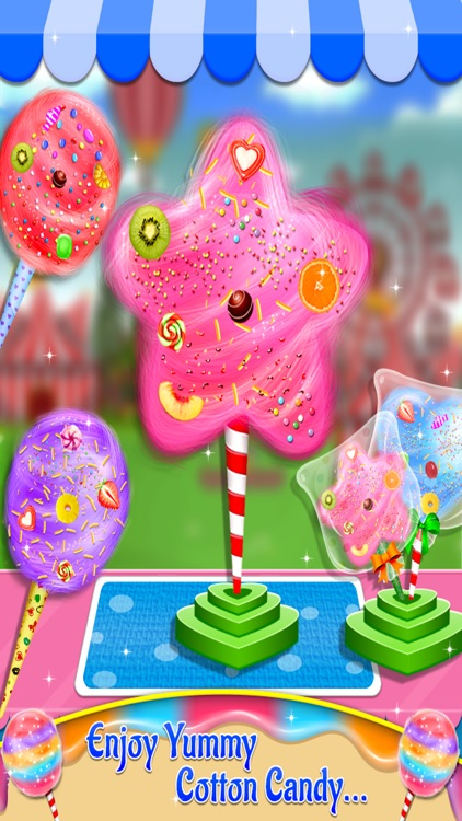Cotton Candy - Fair Food Mania screenshot-3