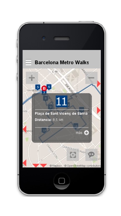 Barcelona Metro Walks - CA screenshot three