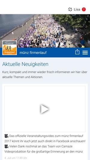 Münz Firmenlauf Im App Store