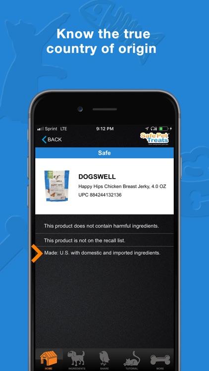 Safe Pet Treats screenshot-4