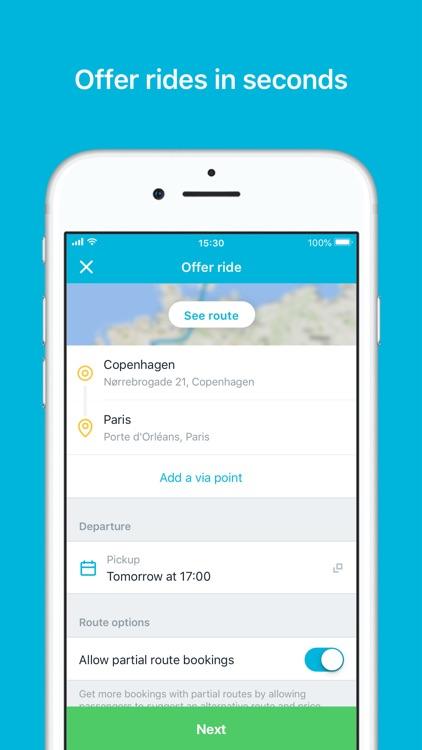 GoMore – rental & ridesharing screenshot-3