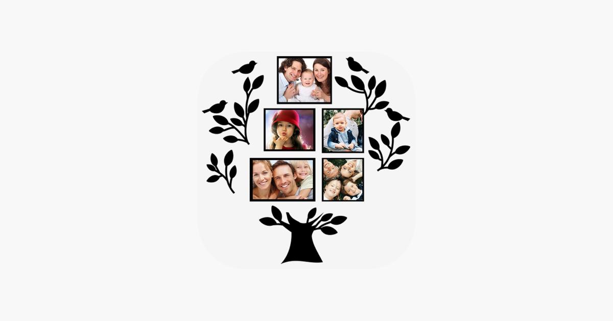 Stammbaum: Bilderrahmen im App Store