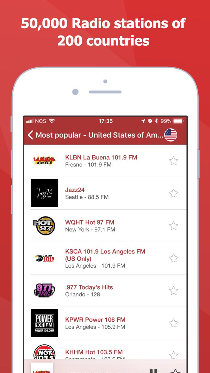 myTuner Radio - Live Stations Screenshot