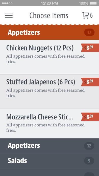 Texas Pizza Pasta & More screenshot 3