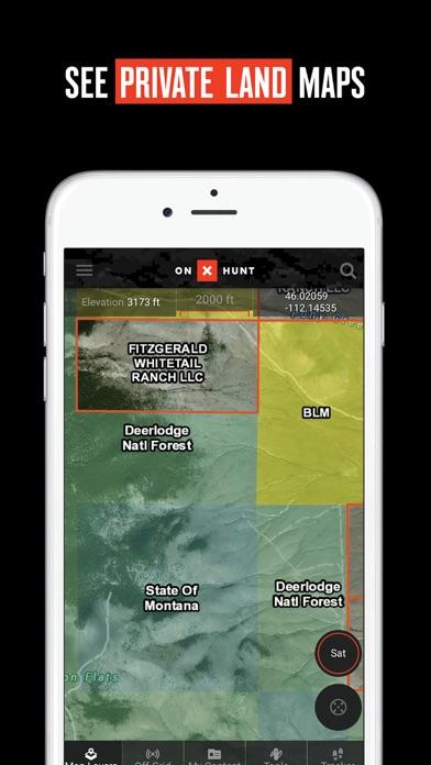 OnX Hunt GPS Hunting App By OnXmaps Inc IOS United States - Onxmaps free trial