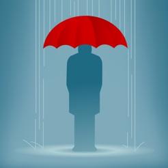 Regenschirm – Regenwarnungen