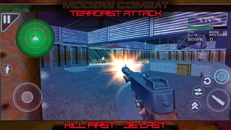 Modern Combat Terrorist Attack screenshot-3