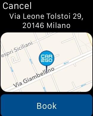 urbi - car sharing e mobilità Screenshot