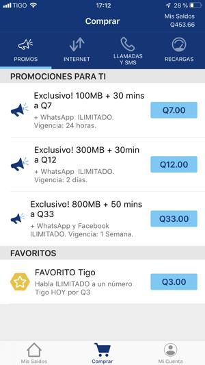 3afb0bd2bb3 Tigo Shop Guatemala en App Store