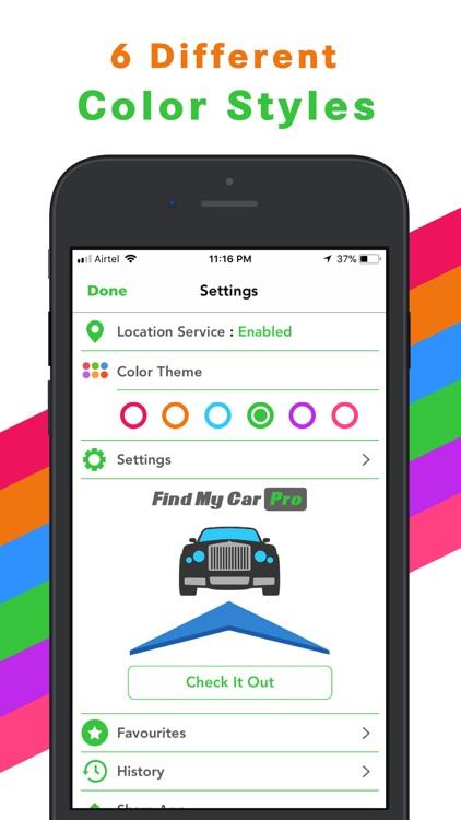 Find My Car - Car Locator screenshot-3