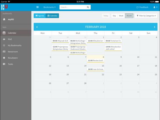 myHU screenshot 6