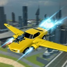 Flying Futuristic Car Battle icon